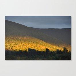 Berkshire Mountain view Canvas Print