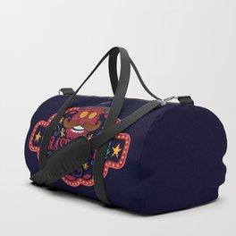 Smile man. Raspberry man Duffle Bag