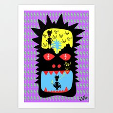 Everyday I wisthle thanks to the wisthle pixies Art Print