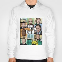 gta Hoodies featuring Breaking Bad GTA HD  by Akyanyme