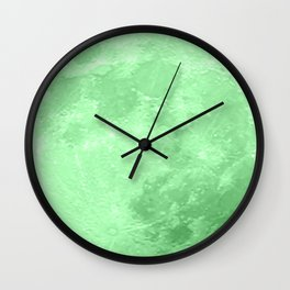 LIME MOON Wall Clock
