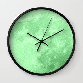 LIME MOON Wall Clock