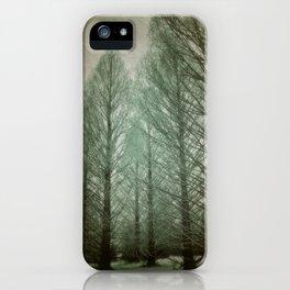 winter dream iPhone Case