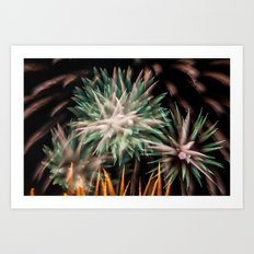 Fireworks - Philippines 16 Art Print