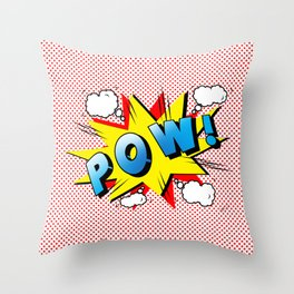 comics  Throw Pillow