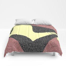 Raspberry Creamsicle Comforters