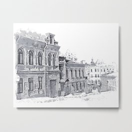 Old street Metal Print