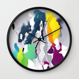 Who squashed the skyline Wall Clock