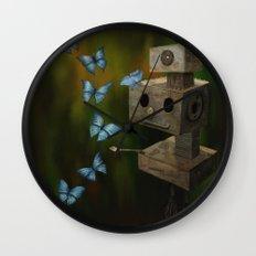 A Little Curiosity Wall Clock