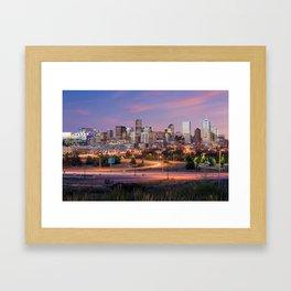 Denver - USA Framed Art Print