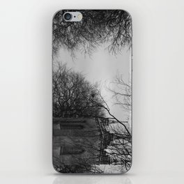 Gothic church iPhone Skin