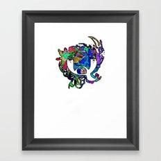 Q Qqqqq Framed Art Print