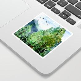 Mountain Forest Sticker