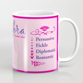 Libra October Coffee Mug