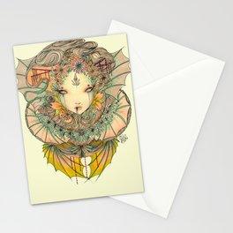 Lady dragon  Stationery Cards
