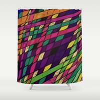 lantern Shower Curtains featuring Lantern by Glanoramay