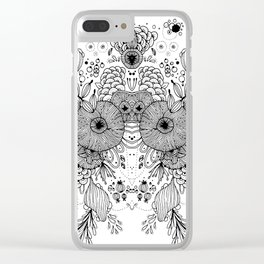 VIVA LA VIDA Clear iPhone Case