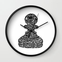 When the Pawn... Wall Clock