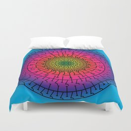 Alchemical Wheel Duvet Cover