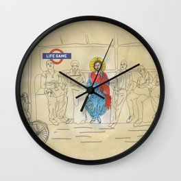 LIFEGAMES,tshirt,mug,laptopcover,iphonecover,tube,london Wall Clock