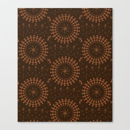 Warli Design Canvas Print