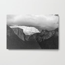 The Mountain View Metal Print