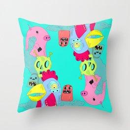chanchito & cia Throw Pillow