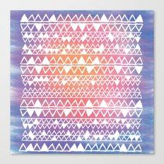 Sunset tribal Canvas Print