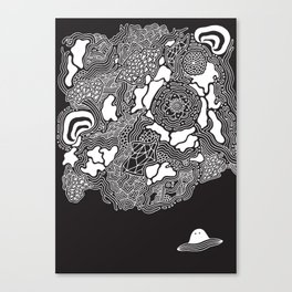 Strange New Land Canvas Print