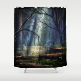 Fantasy Forest 2 Shower Curtain
