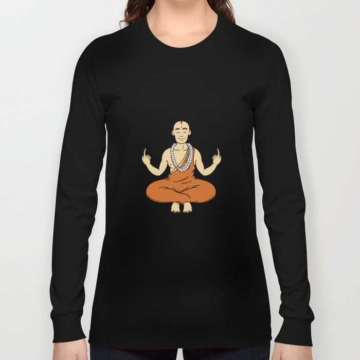 Spiritual peace, unfuck the world ;) Long Sleeve T-shirt