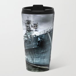 HMS Belfast at Rest Metal Travel Mug
