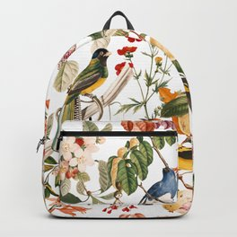 Floral and Birds XXXII Backpack