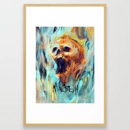 Macbeth Poster - Original Art by Kyle T. Webster Framed Art Print