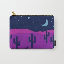 Modern Desert Cactus Scene #desert #cactus Carry-All Pouch