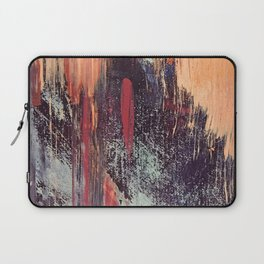 Night and Day: pretty abstract piece in orange, purple, and blues Laptop Sleeve