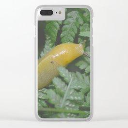 Banana Slug Clear iPhone Case
