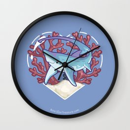 SNAP the Thresher Shark Wall Clock