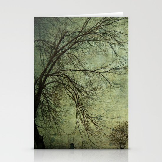 Mysterious Trees Stationery Cards