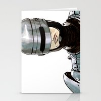 robocop Stationery Cards featuring Robocop by Nicole Cuvin