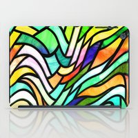 stained glass iPad Cases featuring Stained glass by haroulita