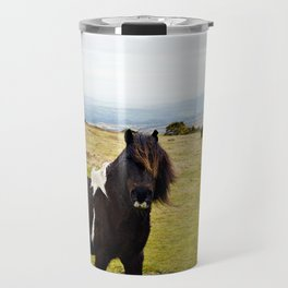 Wild Horse of Dartmoor Travel Mug