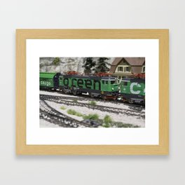 Green Cargo Framed Art Print