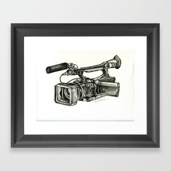 Sony HVR-V1U Framed Art Print