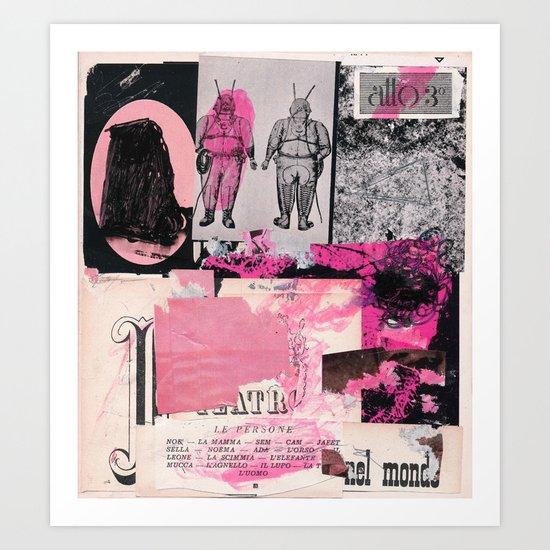 atto 3 Art Print
