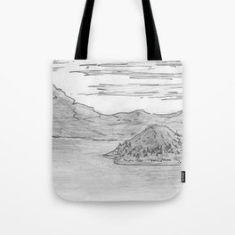 The Island is Growing Tote Bag