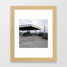 C-66, Flaçà. 2012 Framed Art Print