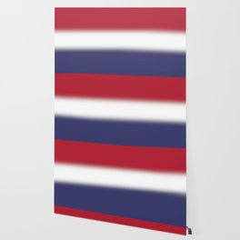Red White and Blue Gradient Ombré Wallpaper