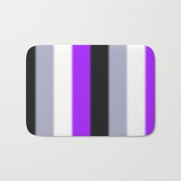 Asexual Pride Flag v2 Bath Mat