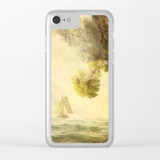 To Misty Mountains Clear iPhone Case